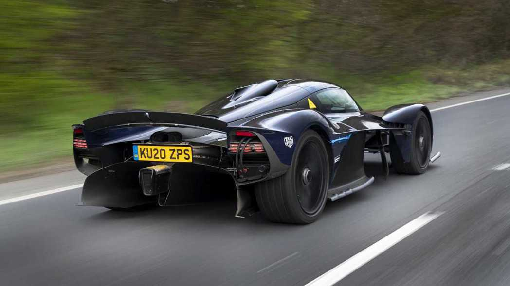Aston Martin Valkyrie有NA引擎最強的馬力輸出。 摘自Ast...