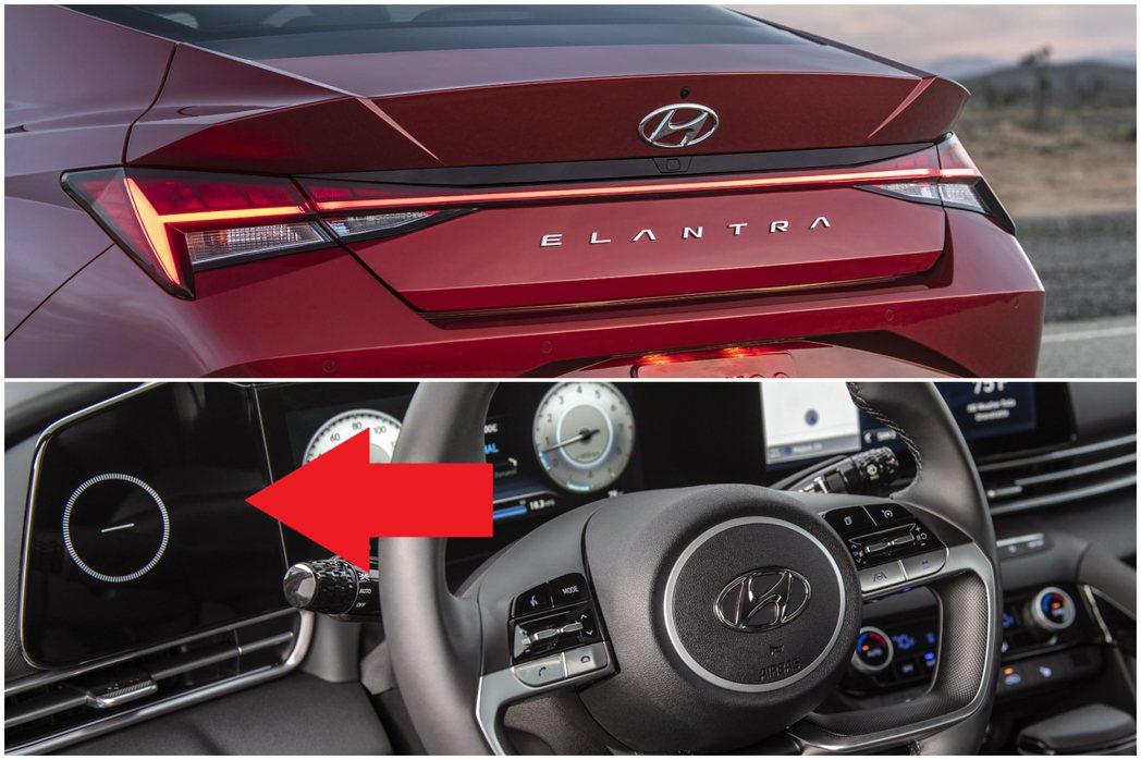 新世代Hyundai Elantra內裝換上全新一體成形式的10.25吋大螢幕,...