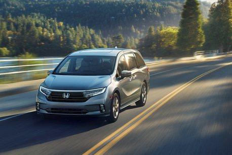 維持同級最暢銷競爭力!美規小改款Honda Odyssey搶先亮相