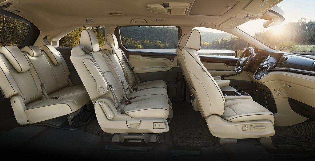 原Honda Odyssey EX車型以上才有的Honda Sensing智慧安...