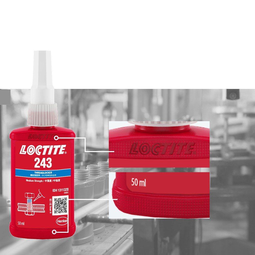 樂泰螺絲固定劑新瓶新增紋理設計。 樂泰/提供