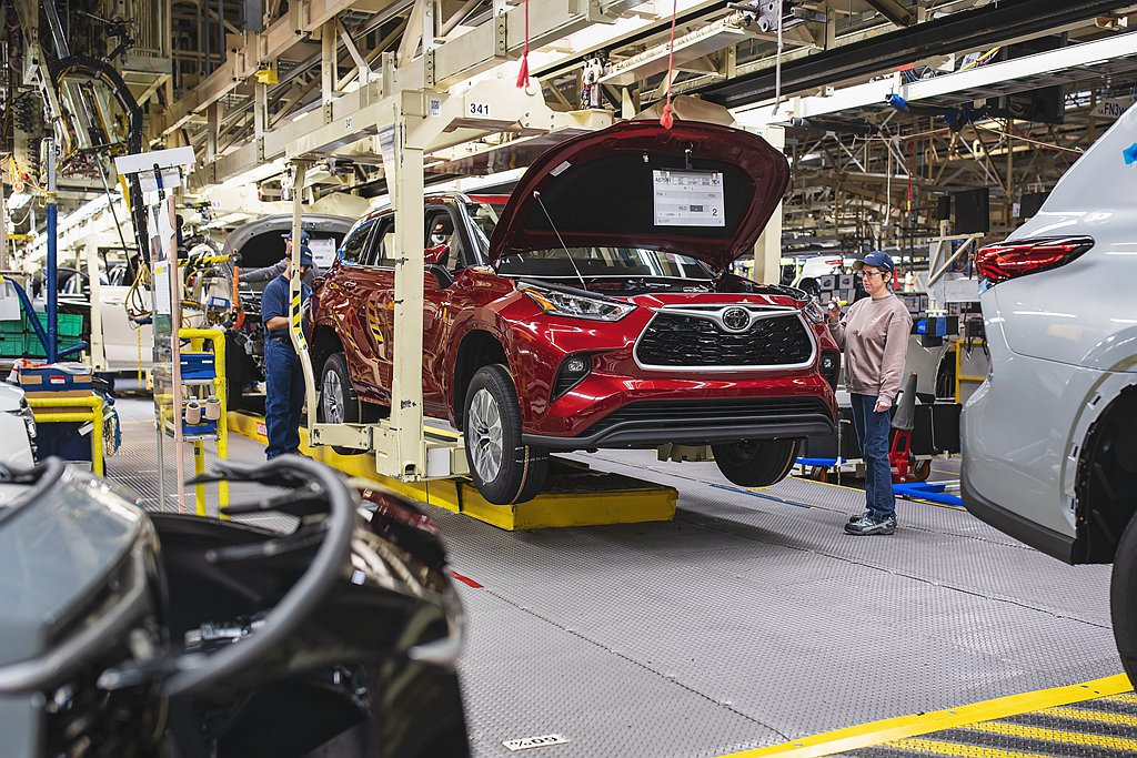Toyota汽車宣布新車生產工廠自3月22日起關閉,預計3月25日恢復生產,影響...