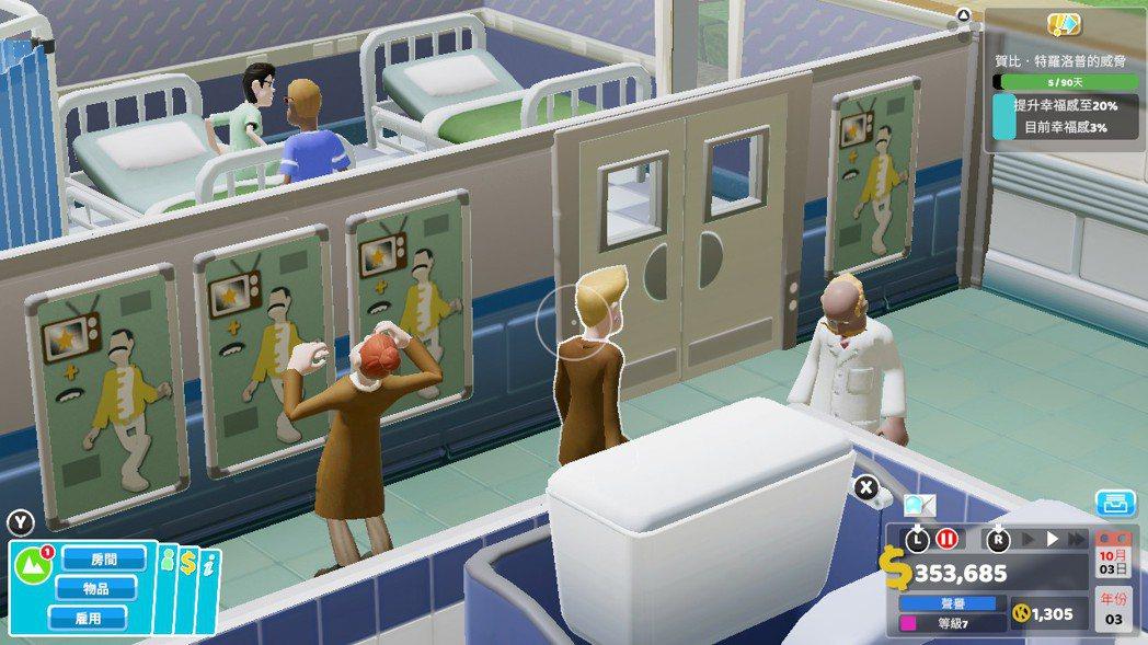 病房外面滿滿的偶像海報~