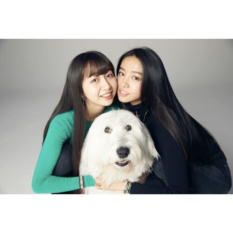 木村光希(右)在IG曝光與心美的合照。圖/取自IG