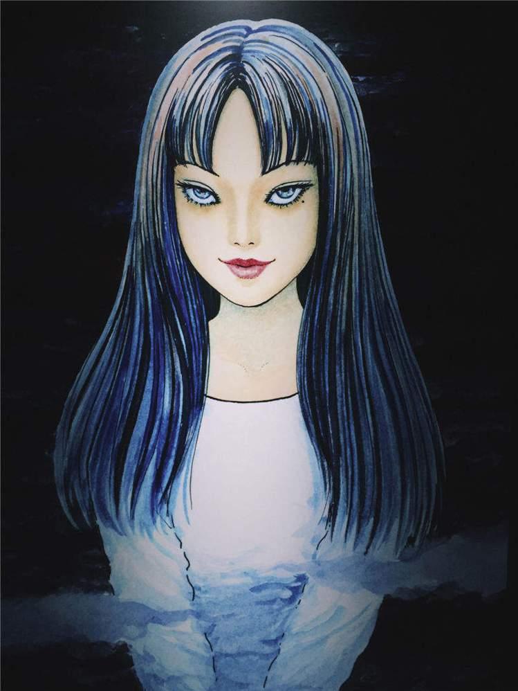 網友表示木村心美的髮型神似伊藤潤二漫畫的「富江」。圖/取自新浪
