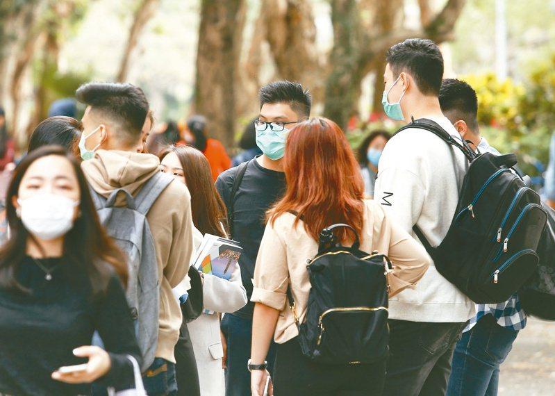 台灣新冠肺炎確診病例破百,穩住陣腳此刻很重要,應變的戰略、戰術不能一成不變。圖/報系資料照片