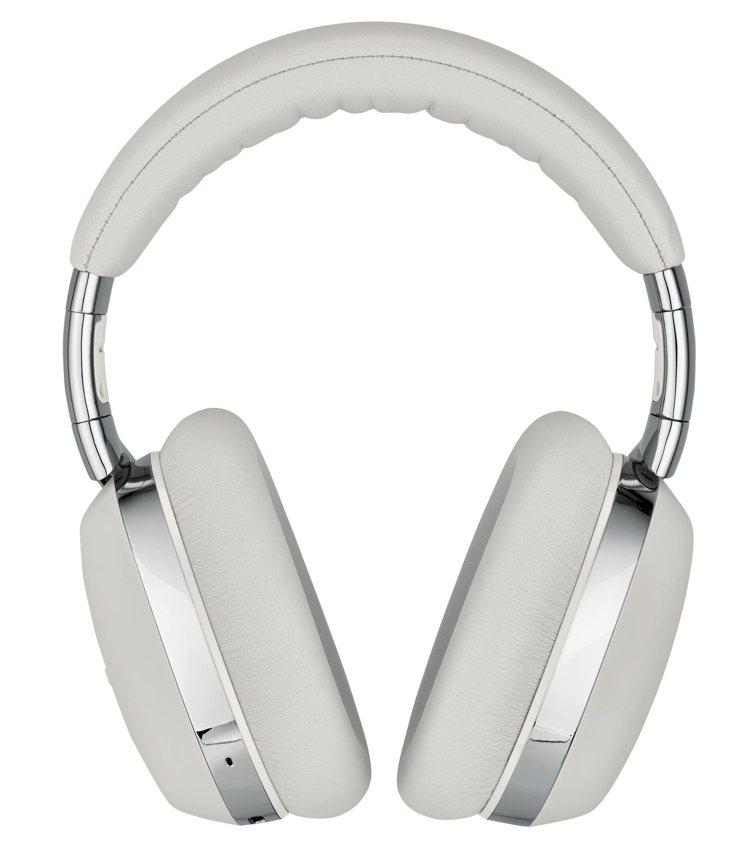 Montblanc,MB01全罩式智能耳機,淺灰色皮革搭配拋光金屬表面處理,20...