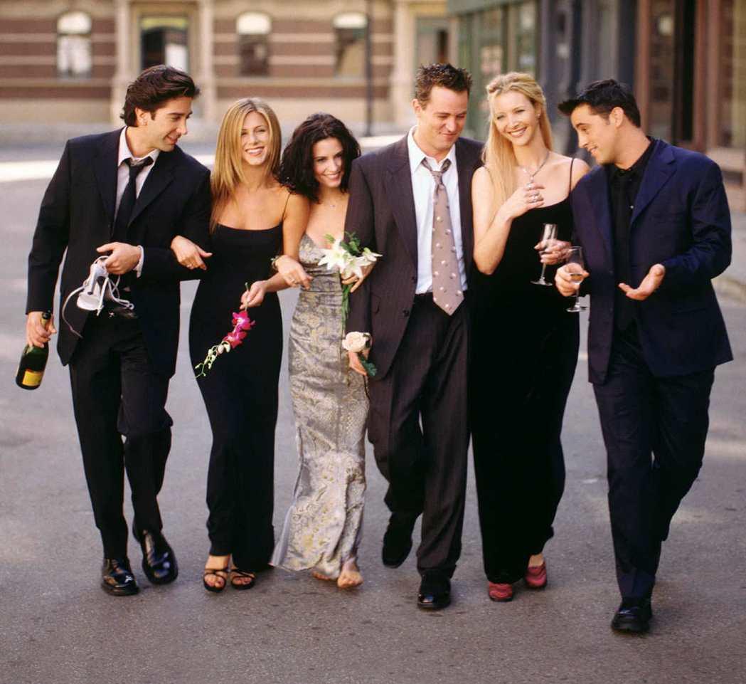 「六人行」雖已結束超過15年,受歡迎程度卻沒有減退。圖/路透資料照片