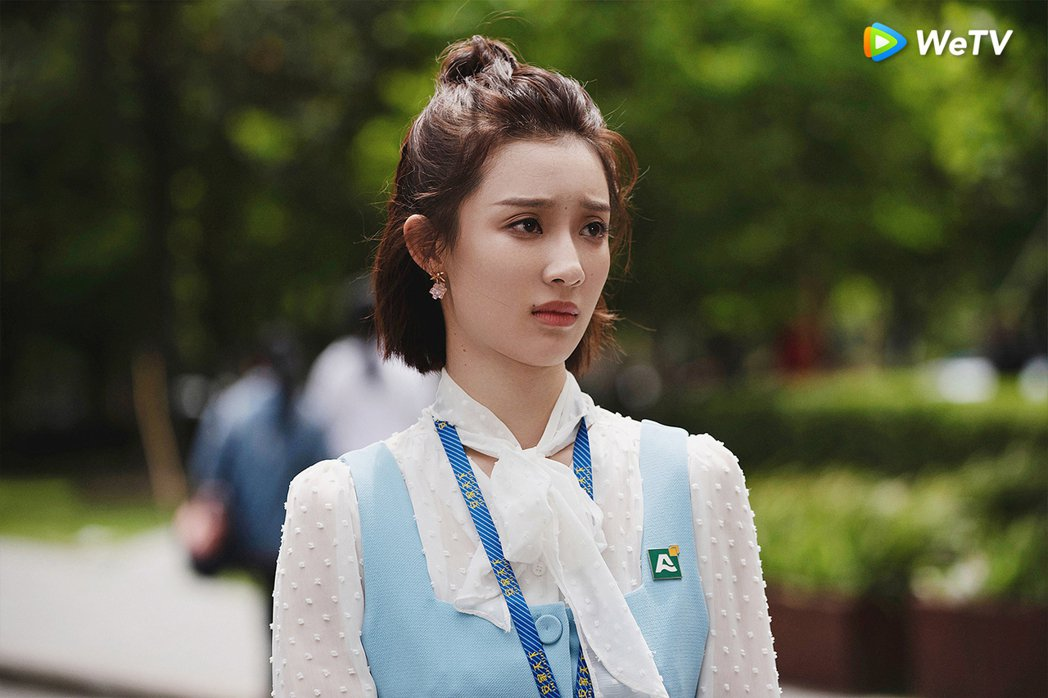 孫佳雨飾演「朱閃閃」一角受討論。圖/WeTV提供