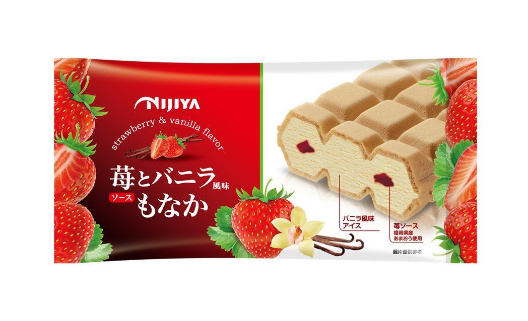 日本NIJIYA福岡草莓香草雪派,售價69元,3月25日至4月21日日本NIJI...
