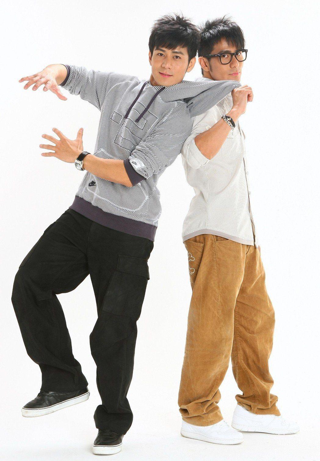 郭彥均(左)和彥甫長相神似,個性卻截然不同。圖/聯合報系資料照