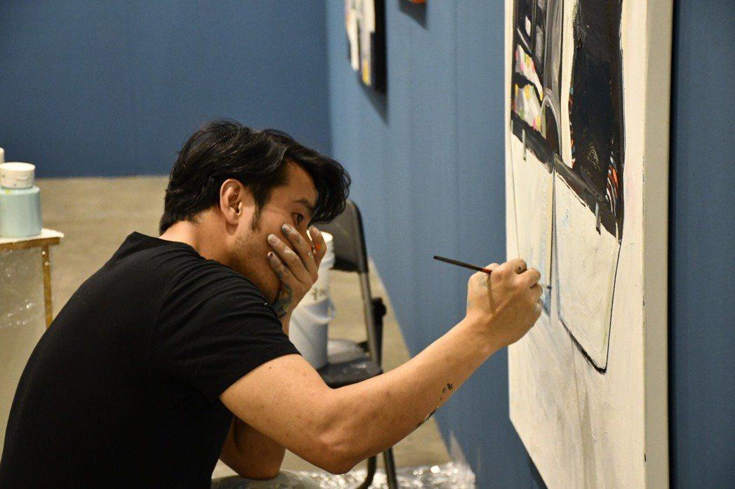 郭彥甫藝術家性格,讓他離開演藝圈後更舒服自在。圖/郭彥甫提供