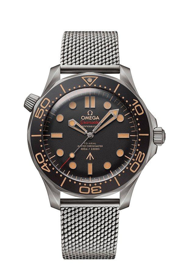 SOGO復興館OMEGA Seamaster海馬系列潛水300米007限定版,3...