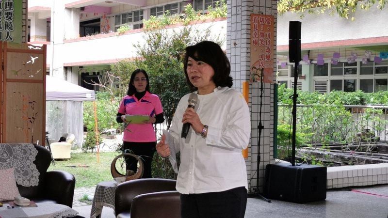 嘉義市長黃敏惠提醒,面對新冠病毒,每個人都要讓自己更強壯丶做好因應。記者卜敏正/攝影