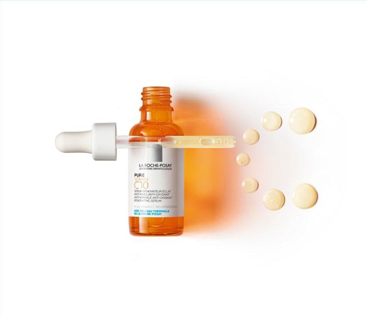 理膚寶水C10肌光活膚精華/30ml/1,680元。圖/理膚寶水提供