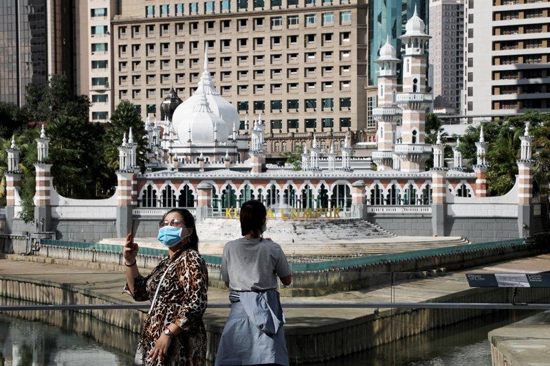 馬來西亞於3月18日至3月31日間實行「行動管制令」。圖攝於3月16日。 圖/路透社