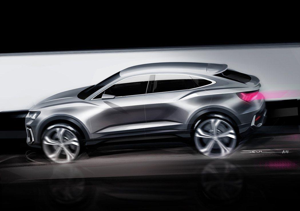 Audi確定推出品牌第三款跑旅:Q5 Sportback。圖為Q3 Sportb...