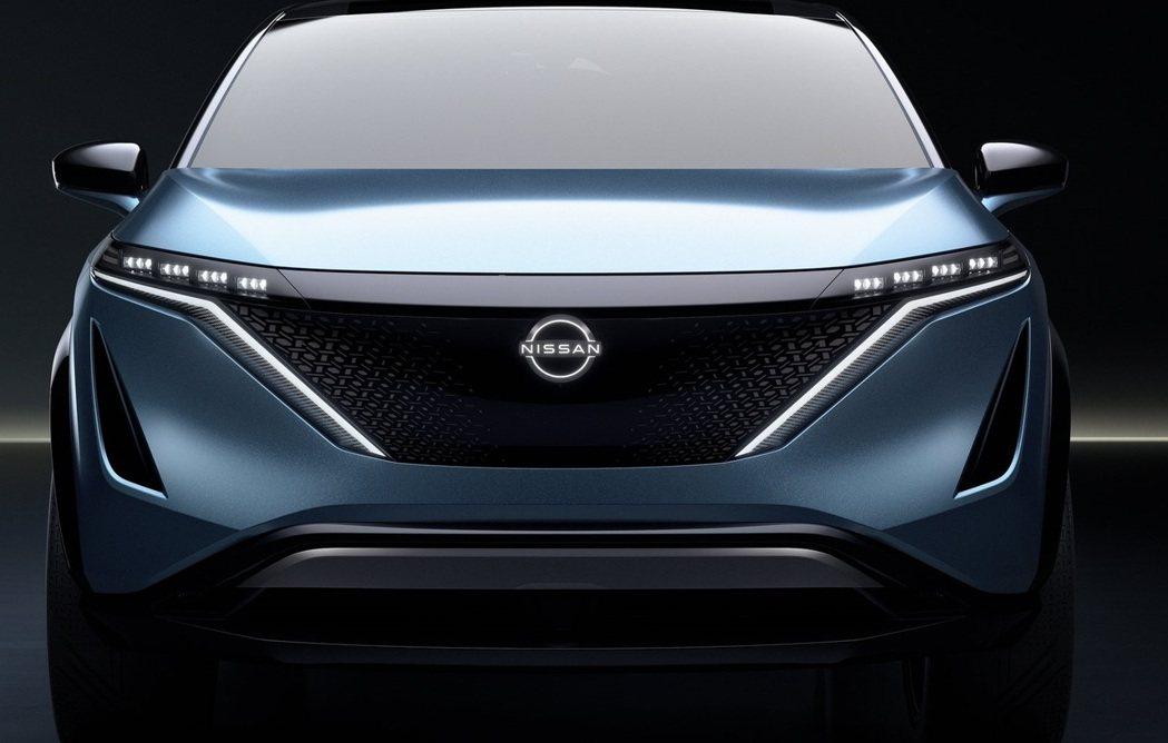 Nissan Ariya Concept上就曾出現新版logo。 摘自Nissa...