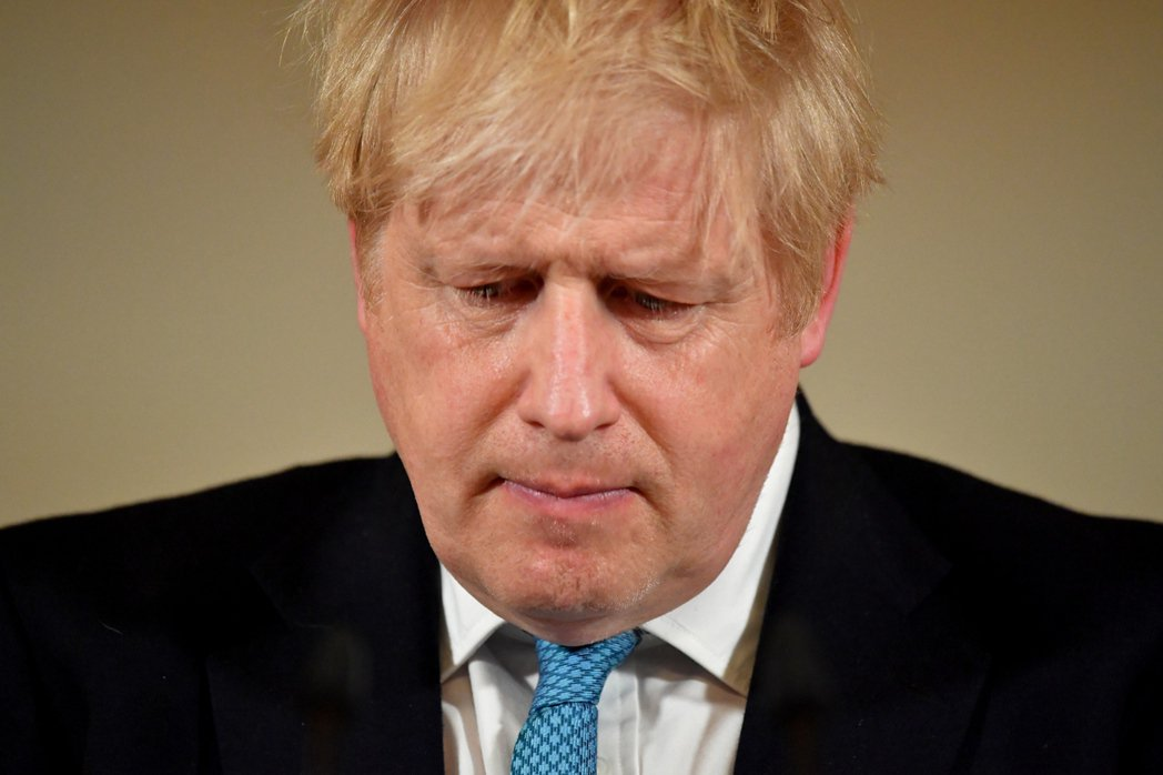 英國首相強生。 圖/歐新社。