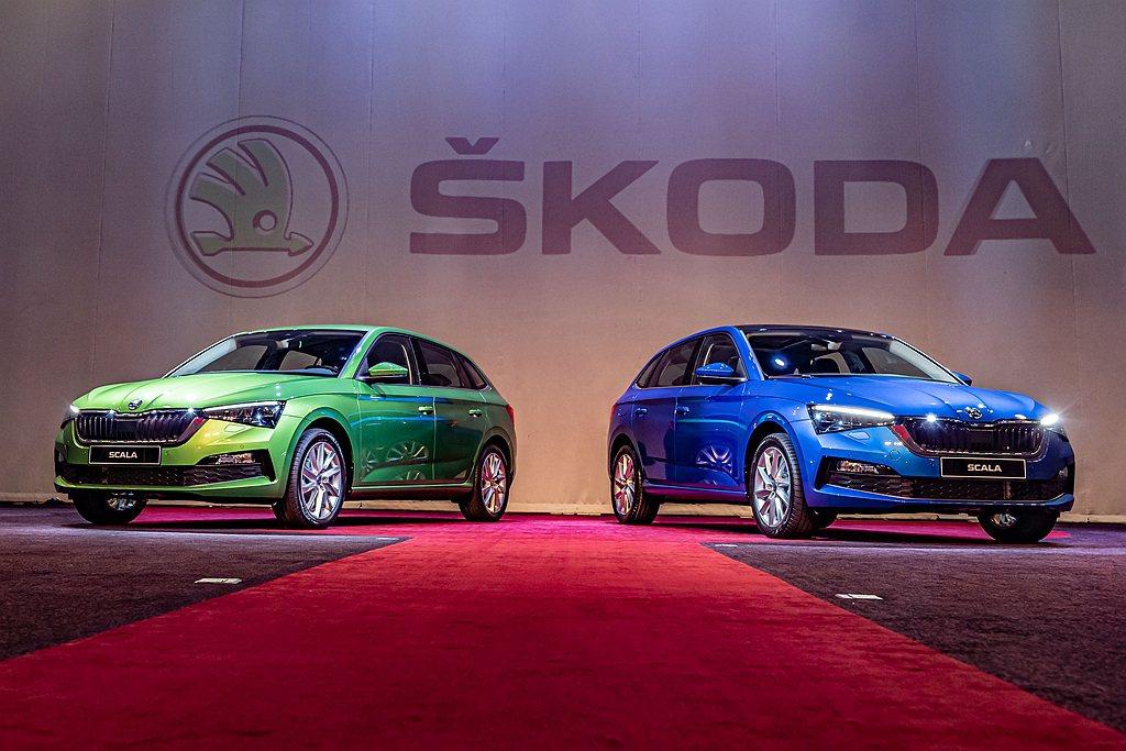 歐洲掀背車Skoda Scala在台銷售告捷。 圖/Skoda Taiwan提供