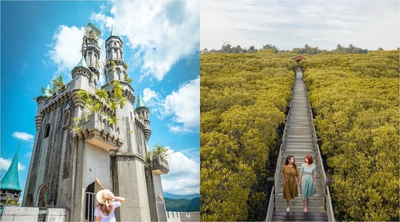 新竹最新「16個景點」通通免門票!懸空彩虹棧道、台版迪士尼、水簾瀑布快搶拍