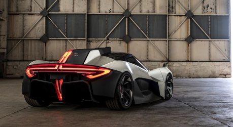 影/比McLaren 720S更輕的Apex AP-0電動超跑!