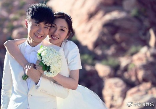 古巨基與老婆陳英雪2014年結婚,去年底喜獲麟兒。圖/摘自微博