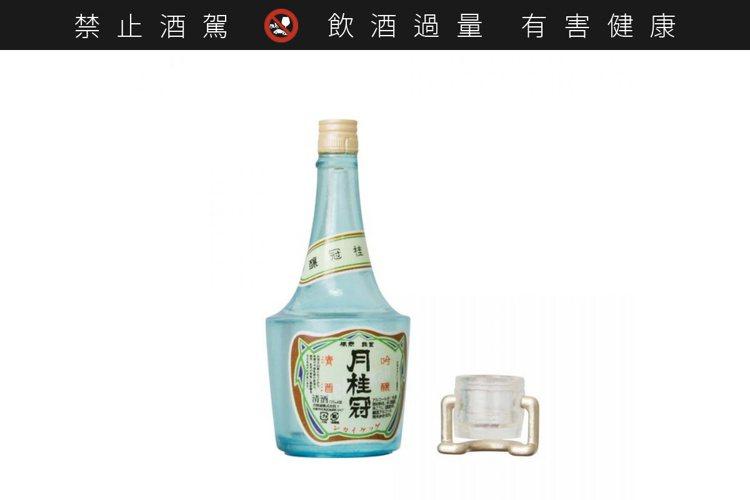 月桂冠復古瓶裝吟釀酒。圖/Kenelephant ※ 提醒您:禁止酒駕 飲酒過量...
