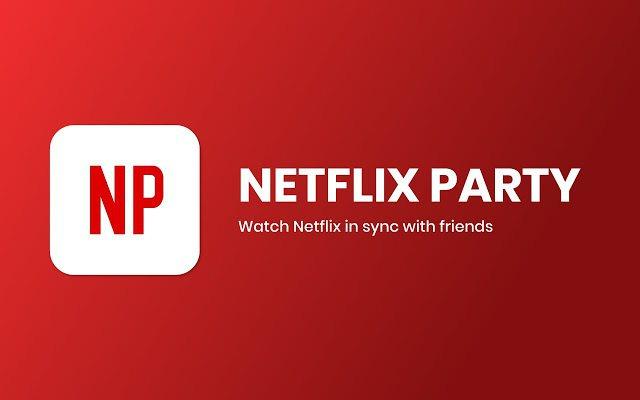 Google Chrome的「Netflix Party」擴充程式提供免費下載。...