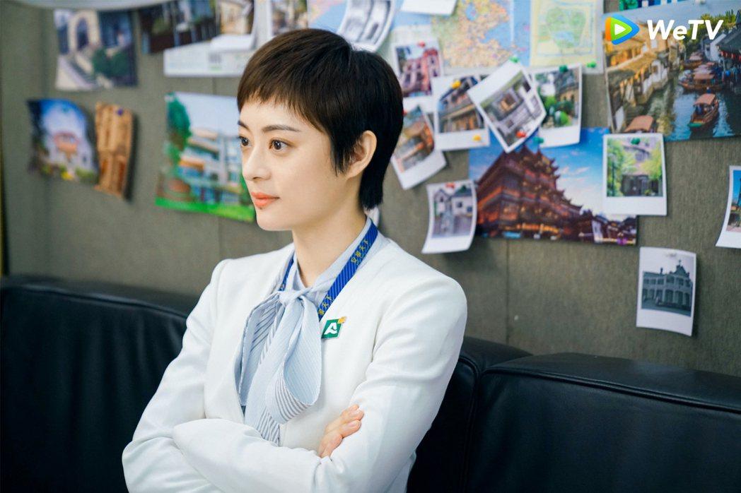 孫儷在「安家」飾演房似錦。圖/WeTV提供