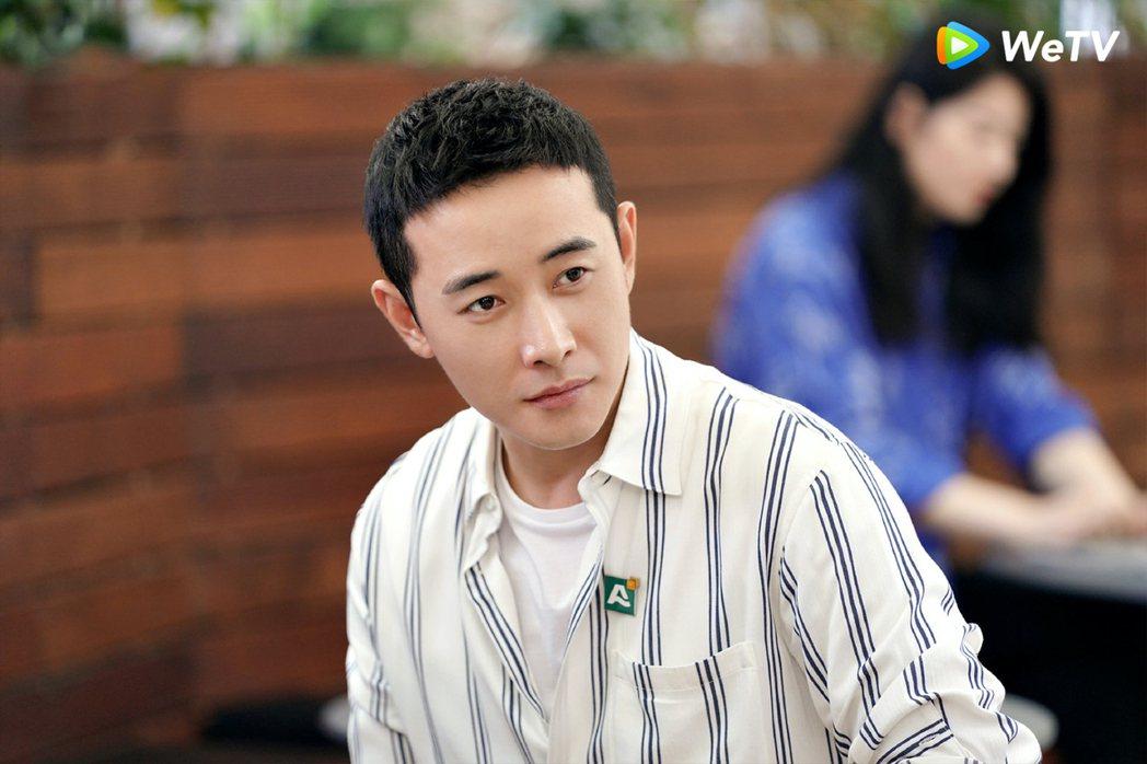 羅晉在「安家」飾演徐姑姑。圖/WeTV提供