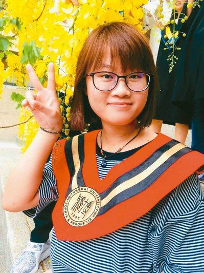 羅子惠個性拚命、說到做到的她,如願一年就考上監所管理員。 圖/羅子惠提供