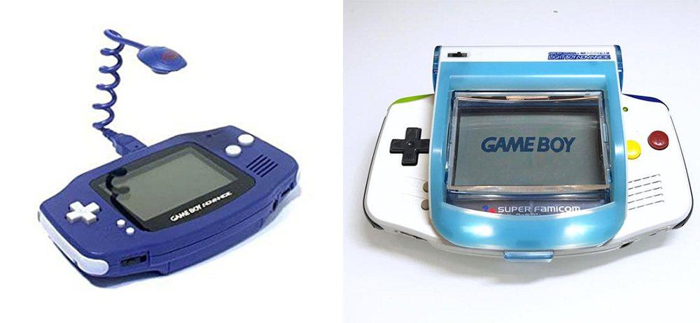 這類外掛照明設備的他廠配件,可是當時許多人玩 GBA 時的必備利器呢!