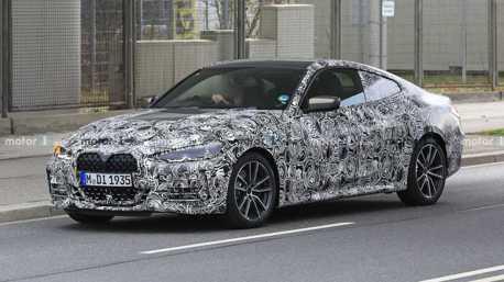 接受大鼻孔的事實吧! 新世代BMW 4 Series偽裝車再度現蹤!