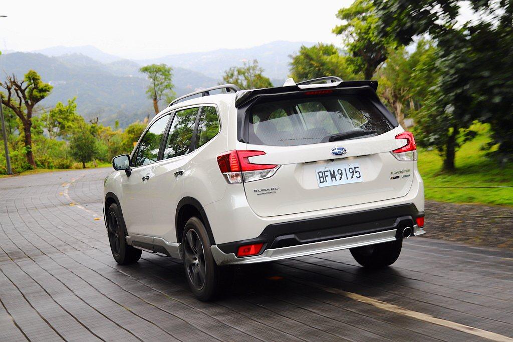Subaru Forester 2.0i-L車型加選「GT Edition」套件...