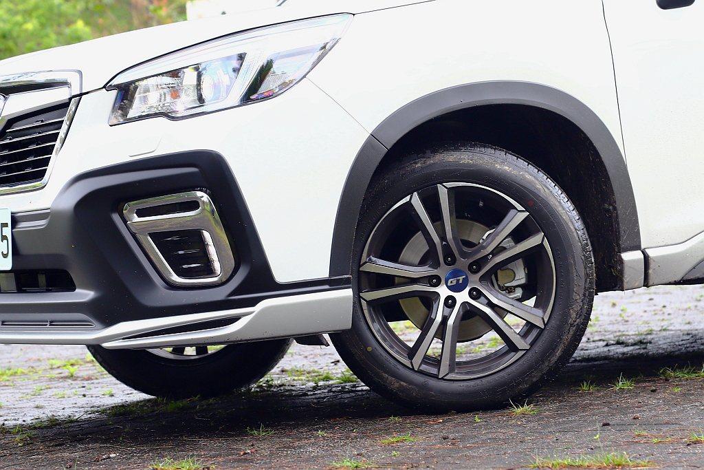 兩車型價差來自於專屬「GT Edition」18吋輪圈,因為Subaru For...