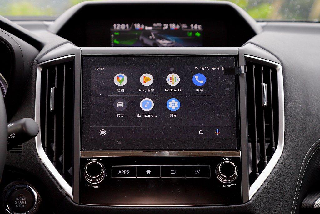 Subaru Forester全車型標準配備8.0吋LCD智慧影音多點觸控螢幕,...