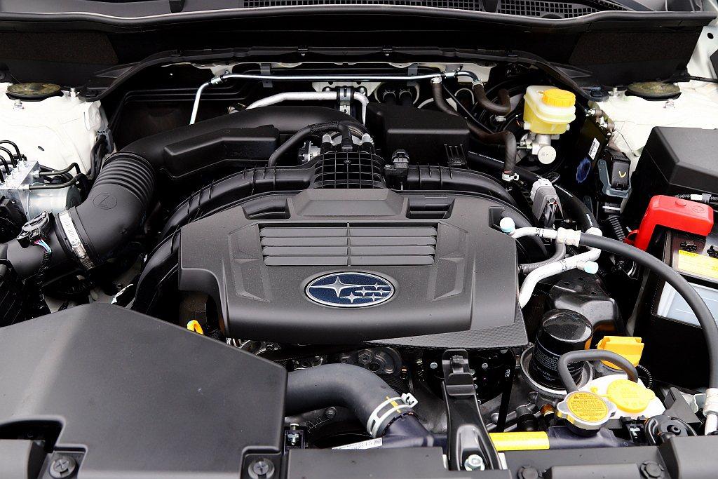 全新第五代Subaru Forester動力配置2.0L水平對臥四缸引擎,具備1...