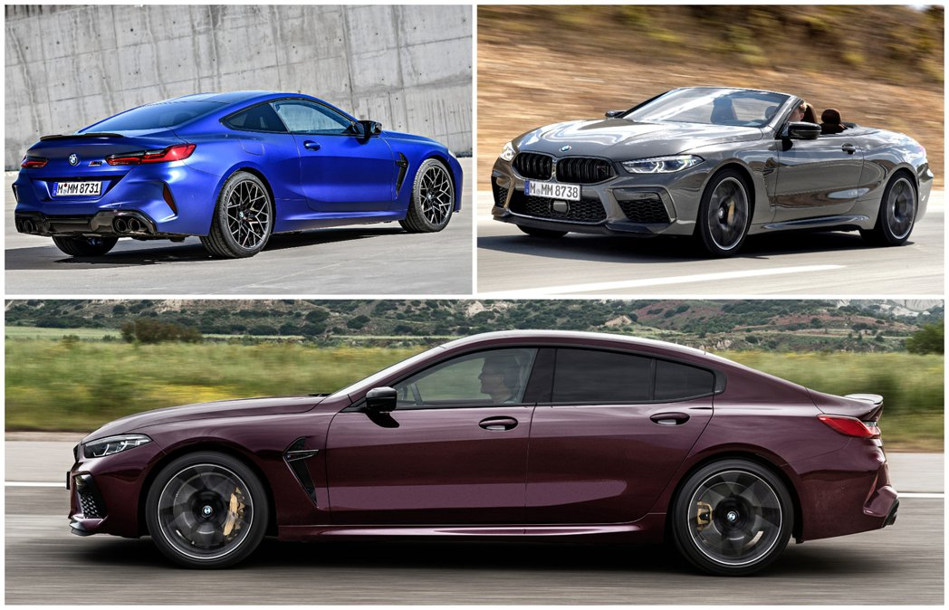 BMW M8 Coupe (F92)、M8 Convertible (F91) ...