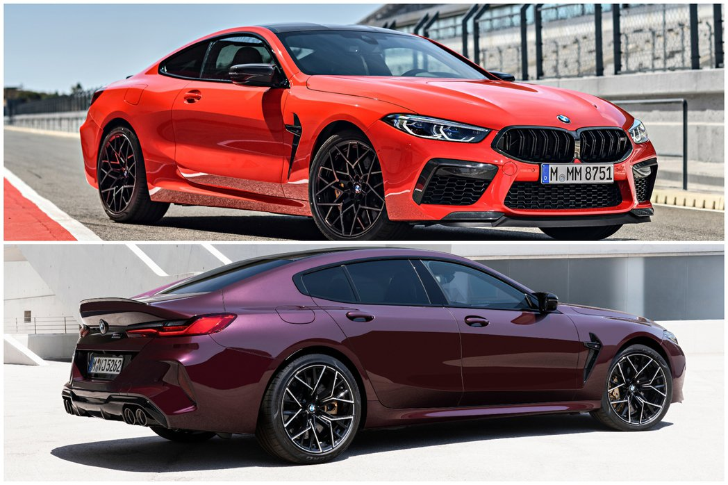 全新BMW F92 M8 Coupe (圖上)、F93 M8 Gran Coup...