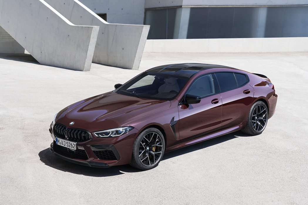 BMW M8 Gran Coupe (F93)。 摘自BMW