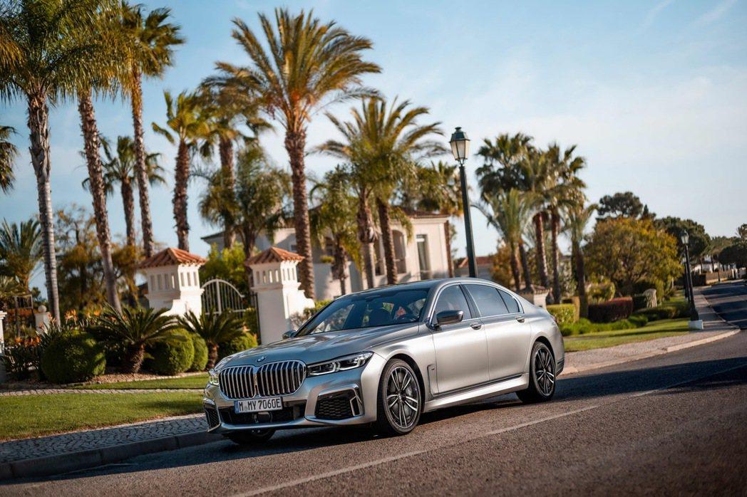 全新BMW 7系列Edition M限量30台傲視登場。 圖/汎德提供