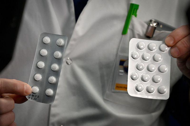 美國總統川普表示「氯奎寧」可治療新冠肺炎。圖為含有氯奎寧成分的藥物。法新社