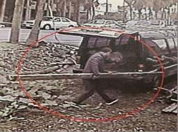 宜蘭三合院之賊昨天落網,眼尖專偷老宅檜木梁柱。圖/警方提供