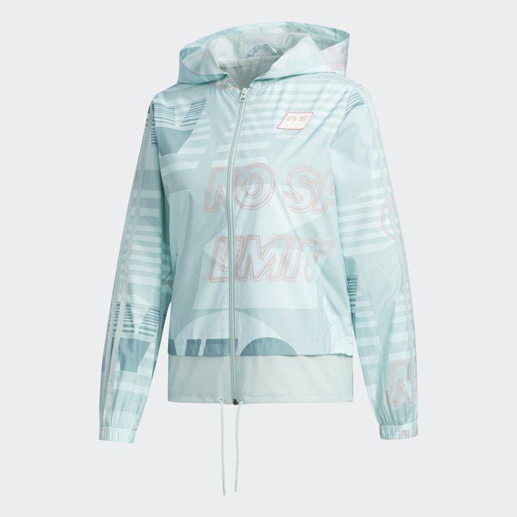 adidas NEO女裝連帽夾克2,690元。圖/adidas提供