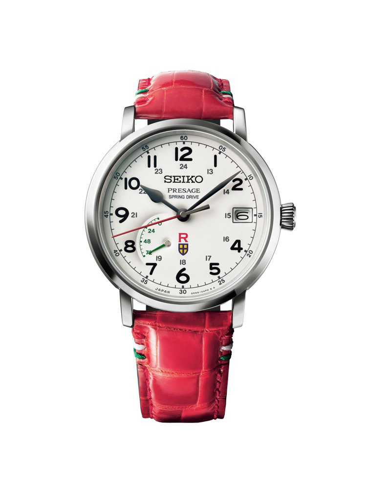 SEIKO Presage吉卜力工作室紅豬聯名限量版SNR047腕表,搭載Spr...