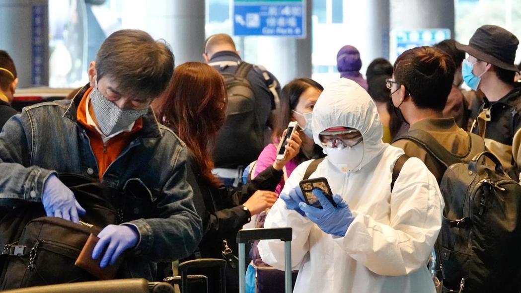 全球新冠肺炎疫情大爆發,旅外國人紛紛回國。 報系資料照