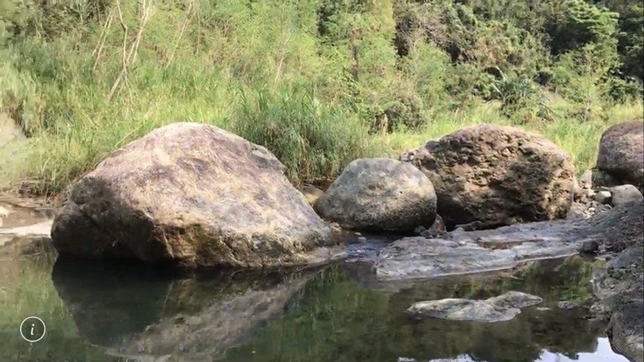 花蓮富里鄉鱉溪上游石厝溝,水深約2公尺,下午發生溺水意外,一男童溺斃。記者王燕華/翻攝