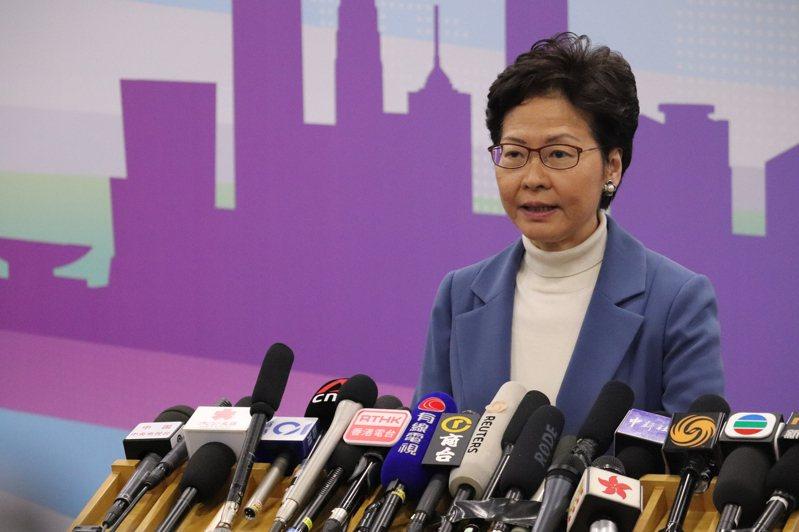 香港特首林鄭月娥。圖/聯合報系資料照片