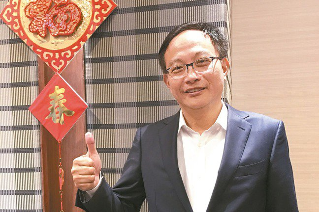 凌華董事長劉鈞。 報系資料照